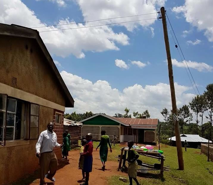 Our orphanage in Kenya is now powered!
